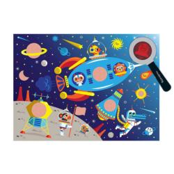Secret Pic Outer Space Space Children's Puzzles