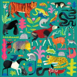 Rainforest Animals Jungle Animals Jigsaw Puzzle
