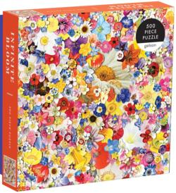 Infinite Bloom Collage Jigsaw Puzzle