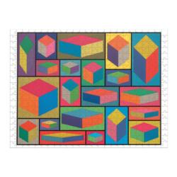 MoMA Sol Lewitt - Scratch and Dent Contemporary & Modern Art Double Sided Puzzle