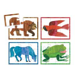 World of Eric Carle, Brown Bear Movies / Books / TV Chunky / Peg Puzzle