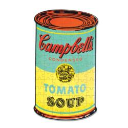 Andy Warhol Campbell's Soup Food and Drink Miniature Puzzle