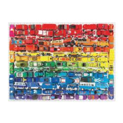 Rainbow Toy Cars Cars Jigsaw Puzzle