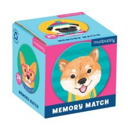 Dog Portraits Mini Memory Match