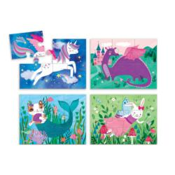 Magical Friends Mermaids Chunky / Peg Puzzle