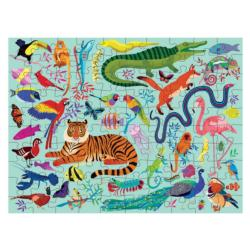 Animal Kingdom Animals Double Sided Puzzle