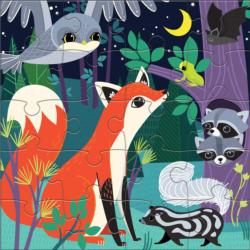 Forest Night & Day Animals Children's Puzzles