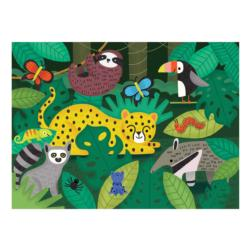 Rainforest Animals Chunky / Peg Puzzle