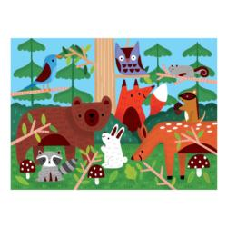 Woodland Forest Chunky / Peg Puzzle
