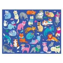 Cats & Dogs Dogs Double Sided Puzzle