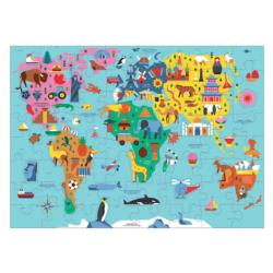 Map of the World Maps / Geography Jigsaw Puzzle