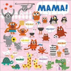 Jimmy Fallon Everything is Mama Jumbo Animals Children's Puzzles