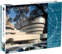 Guggenheim Monuments / Landmarks Double Sided Puzzle