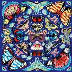 Kaleido-Butterflies Butterflies and Insects Jigsaw Puzzle