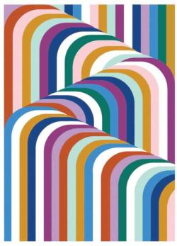 Jonathan Adler Vertigo Abstract Jigsaw Puzzle