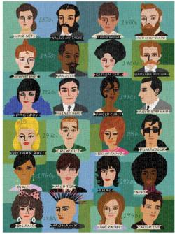 History of Hairdos - Scratch and Dent Nostalgic / Retro Jigsaw Puzzle