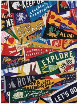 Celebrate Everything Collage Impossible Puzzle