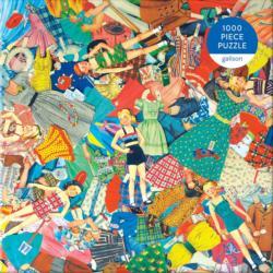 Vintage Paper Dolls Crafts & Textile Arts Jigsaw Puzzle
