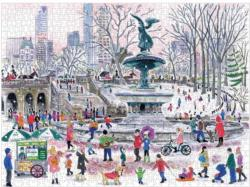 Bethesda Fountain New York Jigsaw Puzzle