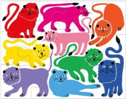 Rainbow Roar! Lions Children's Puzzles