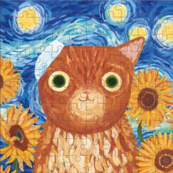 Vincat van Gogh Artsy Cats Cats Tin Packaging
