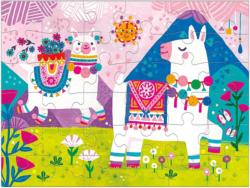 Llama Land Animals Children's Puzzles