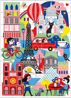 Paris (Mini) Paris Children's Puzzles