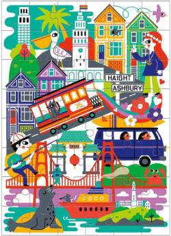 San Francisco San Francisco Children's Puzzles
