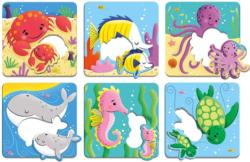Ocean Babies I Love You Fish Children's Puzzles