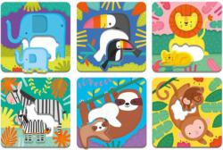 Jungle Babies I Love You Animals Children's Puzzles