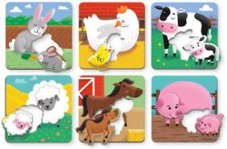 Farm Babies I Love You Farm Animals Children's Puzzles