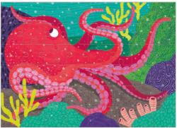 Giant Pacific Octopus Under The Sea Children's Puzzles