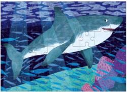 Great White Shark Under The Sea Children's Puzzles