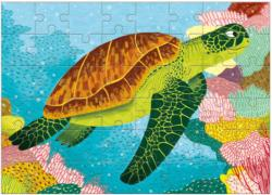 Green Sea Turtle (Mini) Turtles Children's Puzzles