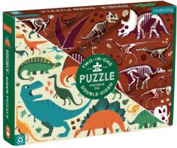 Dinosaur Dig Dinosaurs Double Sided Puzzle