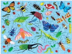 Bugs & Birds Butterflies and Insects Double Sided Puzzle