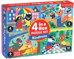 Kindness 4-in-a-Box Puzzle Set Animals Multi-Pack