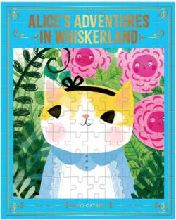 Alice's Adventures in Whiskerland Cats Jigsaw Puzzle