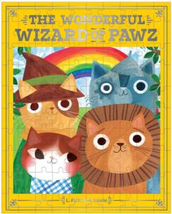 The Wonderful Wizard of Pawz Cats Jigsaw Puzzle