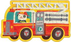 Firetruck Vehicles Children's Puzzles