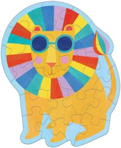 Rainbow Lion Lions Children's Puzzles
