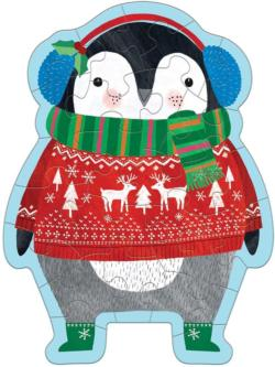 Winter Penguin Winter Children's Puzzles