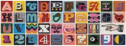Needlepoint A to Z Alphabet/Numbers Panoramic Puzzle