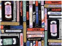 Classic Rewind Movies / Books / TV Jigsaw Puzzle