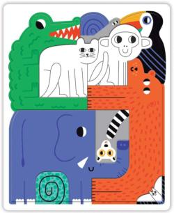 Jungle We Go Together Jungle Animals Children's Puzzles