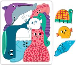 Ocean We Go Together Fish Children's Puzzles