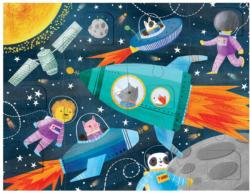 Blast Off! Space Children's Puzzles