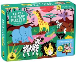 On Safari Animals Children's Puzzles