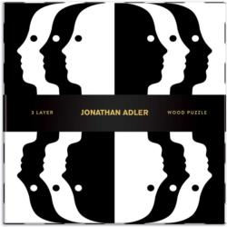 Jonathan Adler Atlas Abstract Wooden Jigsaw Puzzle