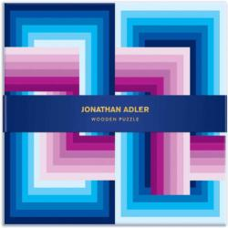 Jonathan Adler Infinity Abstract Wooden Jigsaw Puzzle